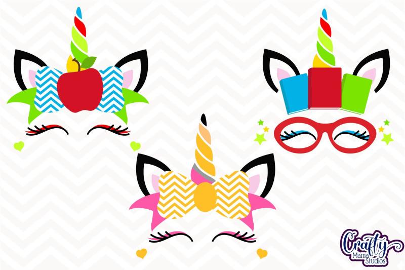 school-unicorn-bundle-svg-unicorn-cut-files