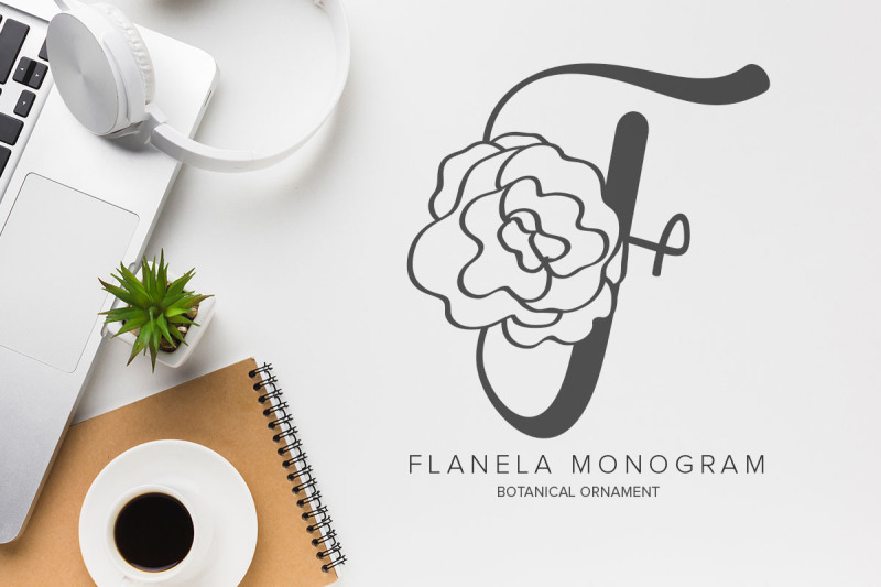 flanela-monogram