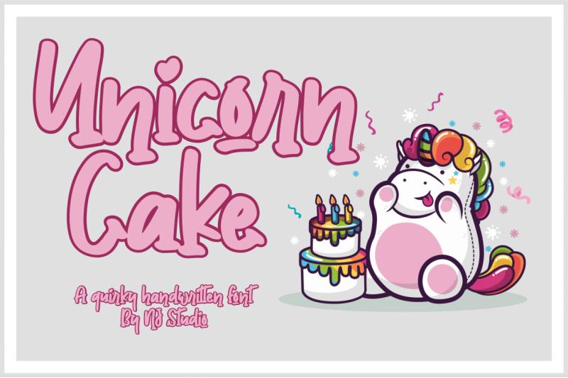unicorn-cake