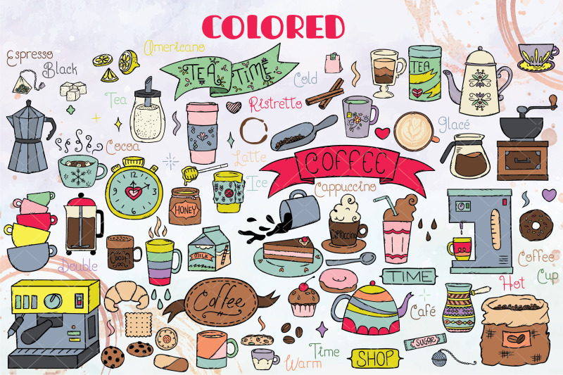 coffee-amp-tea-colored-hand-drawn-cookies-espresso-machine-cups