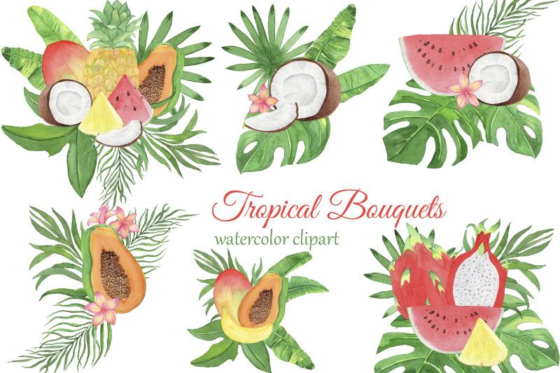 tropical-fruits-bouquets