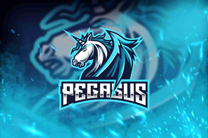pegasus-esport-logo-template