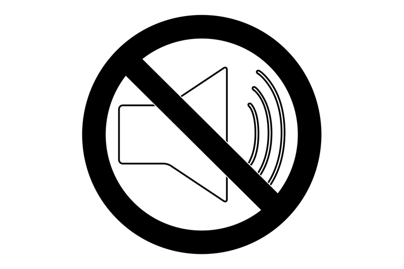 mute-symbol-vector