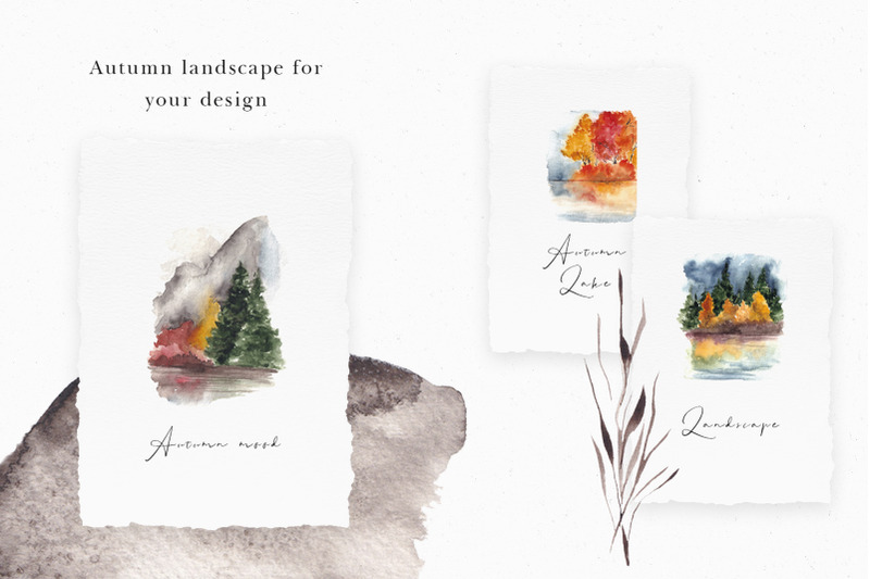 one-day-in-the-fall-aesthetic-watercolor-collection
