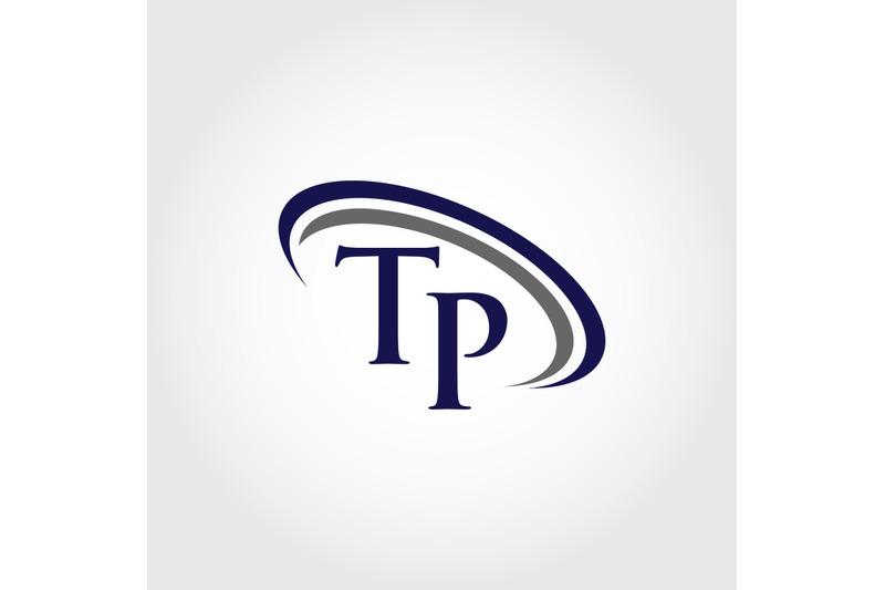 monogram-tp-logo-design