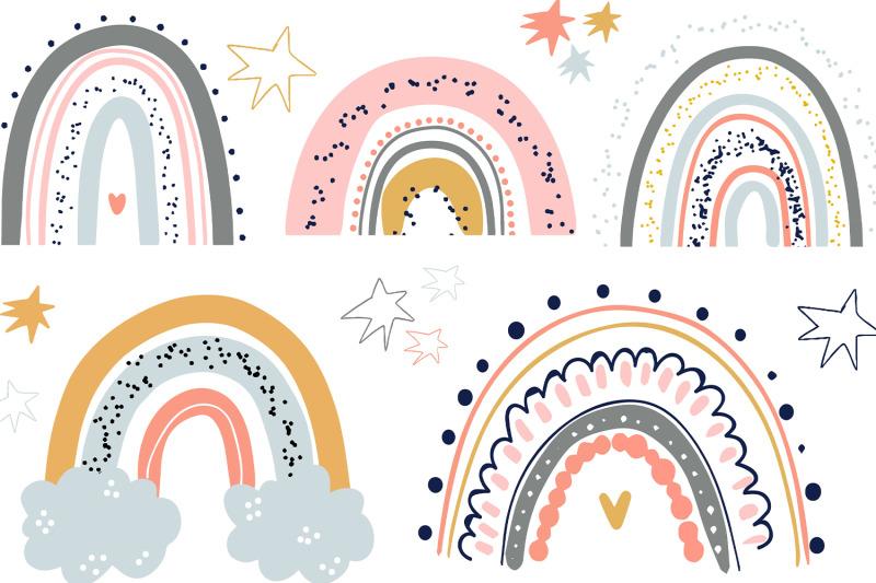 rainbow-bundle-clipart-png-svg-vector