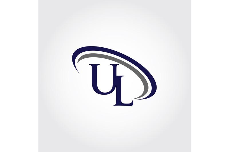 monogram-ul-logo-design