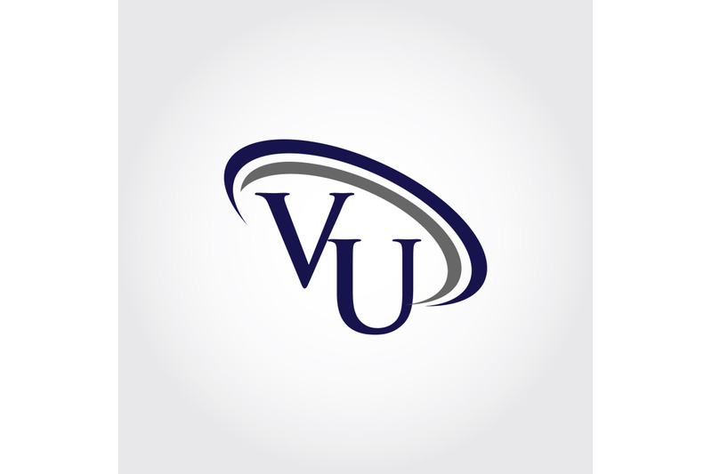 monogram-vu-logo-design