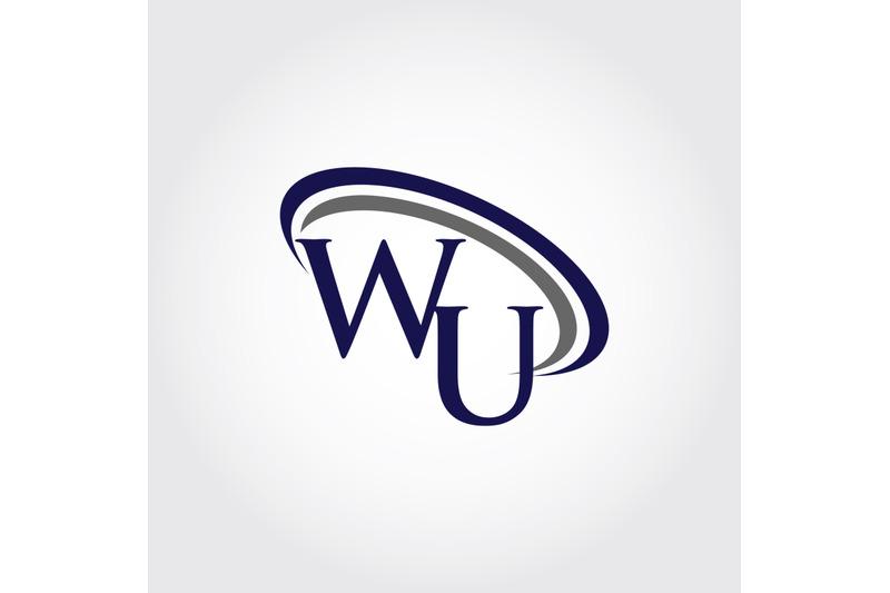 monogram-wu-logo-design