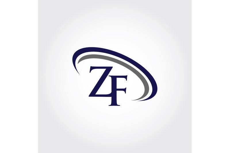 monogram-zf-logo-design