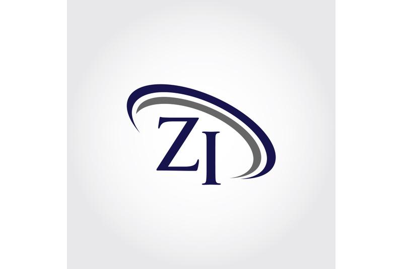 monogram-zi-logo-design
