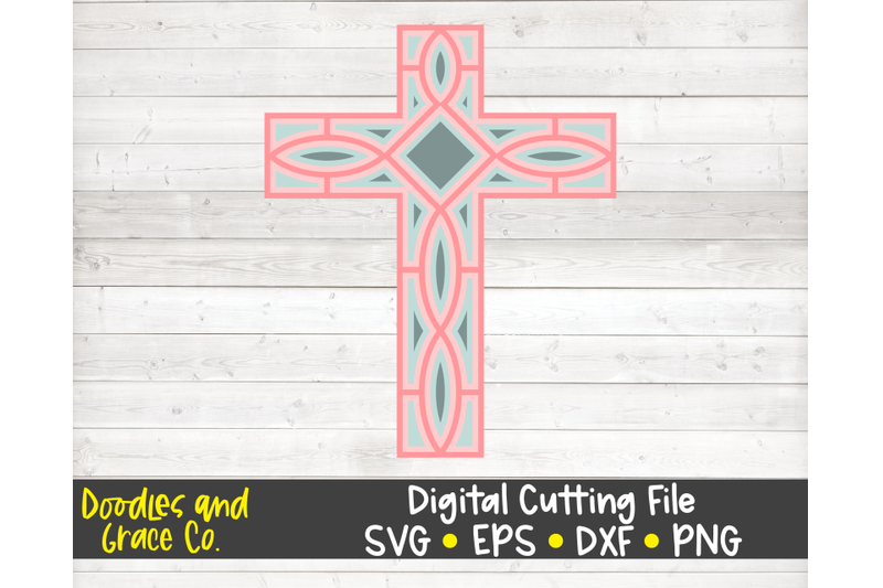 cross-3d-layered-mandala-svg