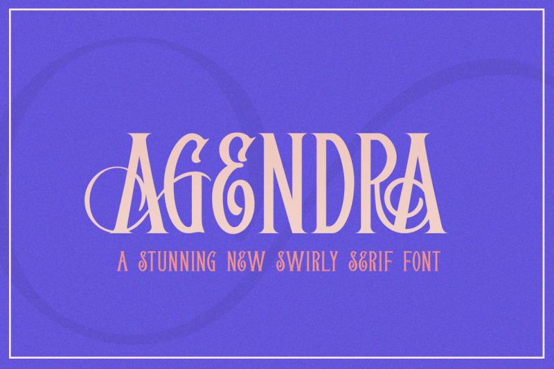 agendra-serif-font