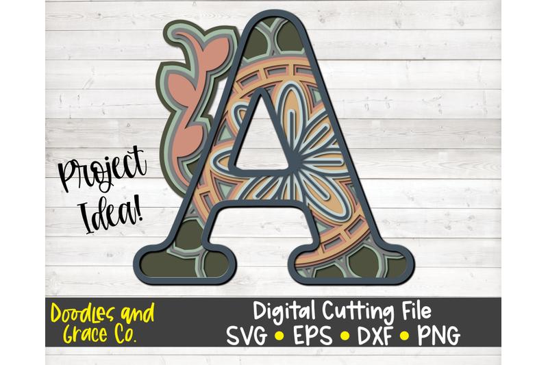 alphabet-3d-layered-mandala-bundle-svg