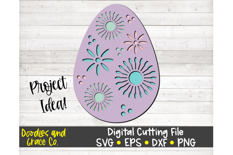 easter-egg-3d-layered-svg