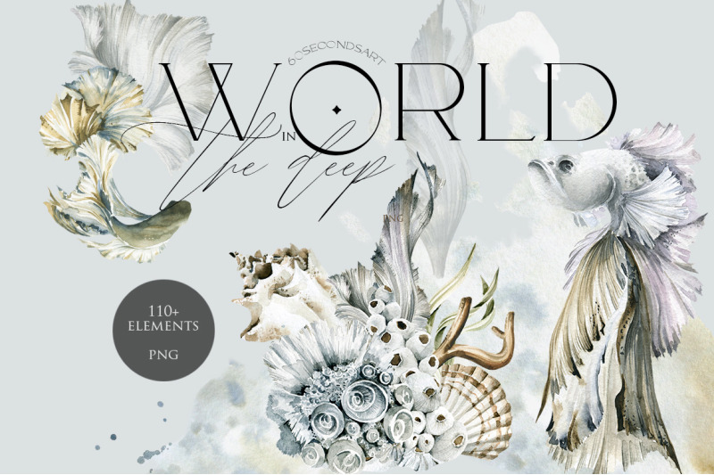 world-in-the-deep-watercolor-collection