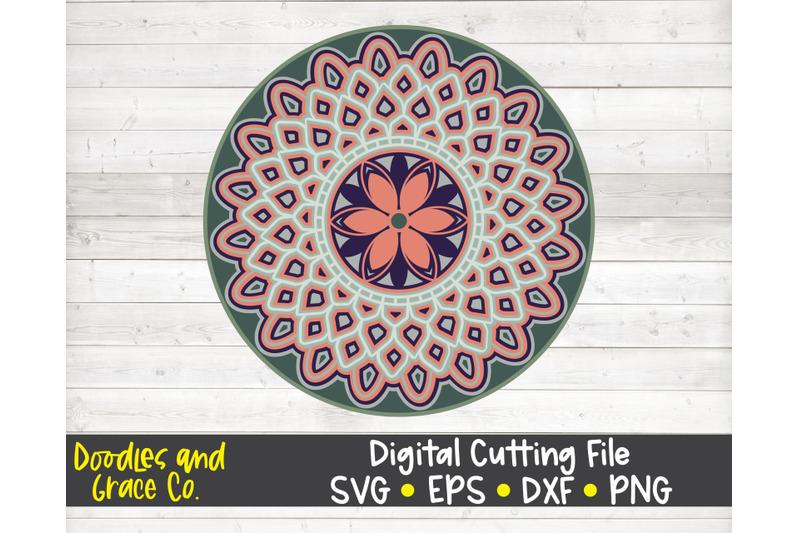 flower-3d-layered-mandala-svg