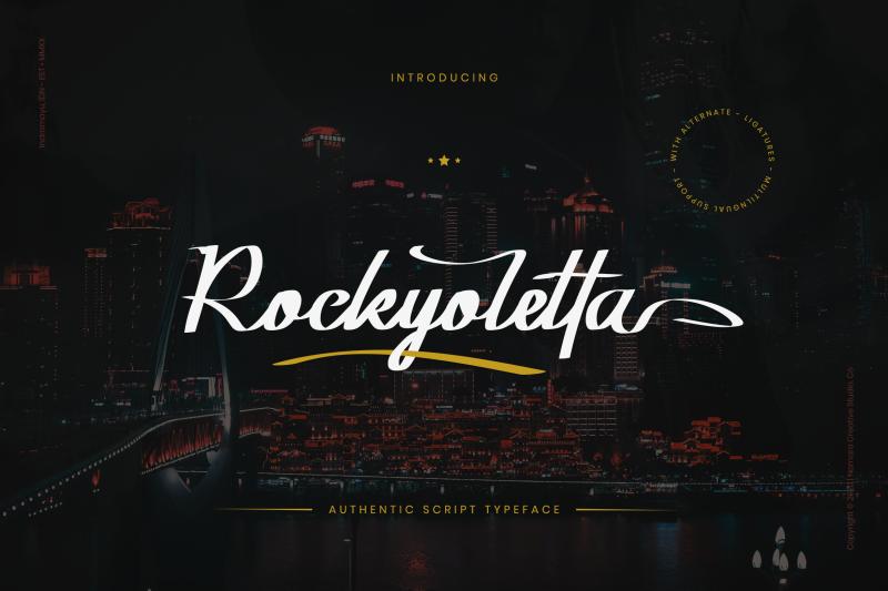 rockyoletta-calligraphy-script