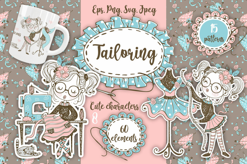 tailoring-svg-png