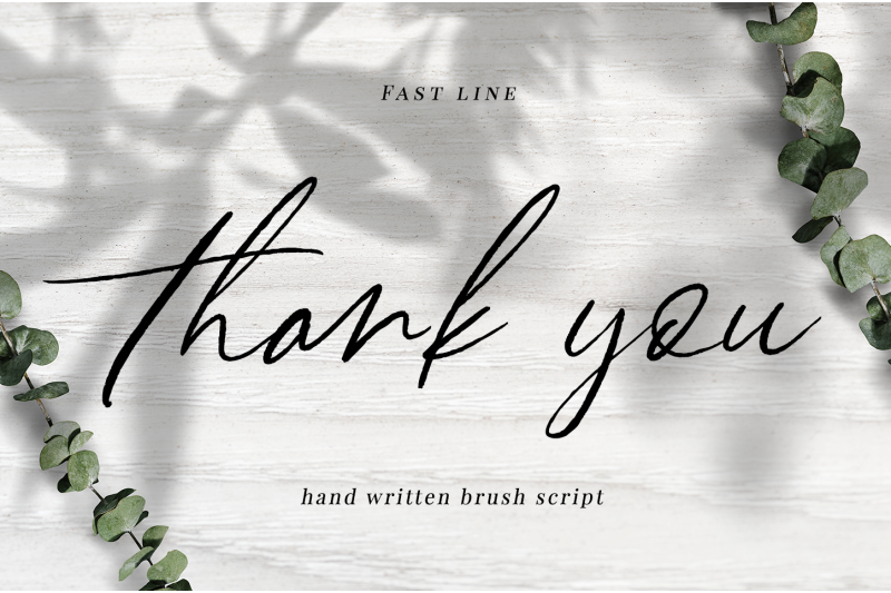 fast-line-brush-script