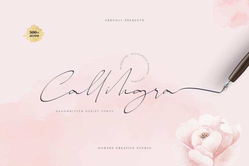 callihgra-script-fonts