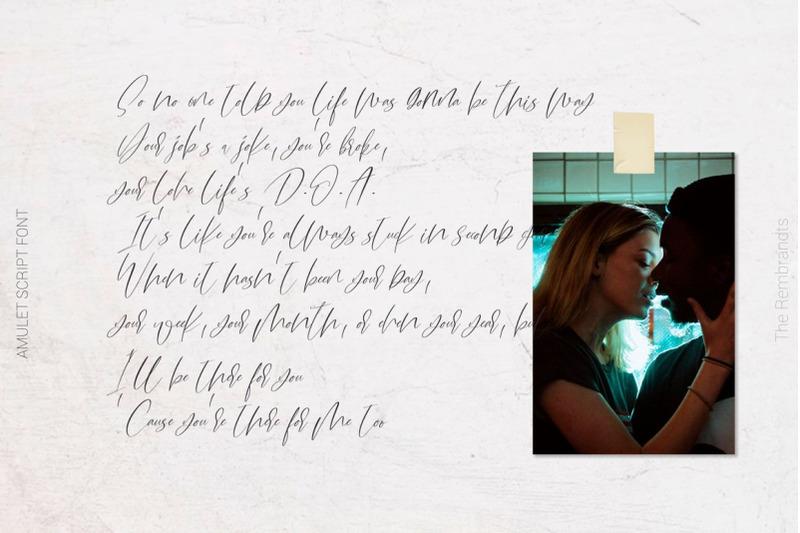 amulet-signature-script-font