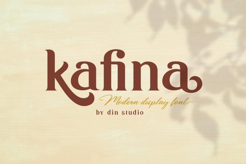 kafina-modern-serif