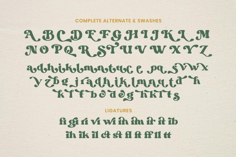 margin-retro-serif-font