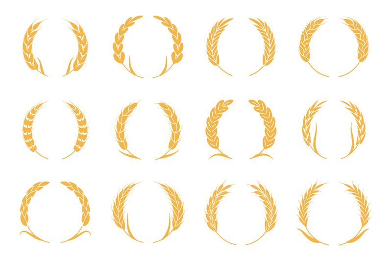 wheat-and-rye-wreaths-harvest-spike-logo-elements-for-organic-food-l