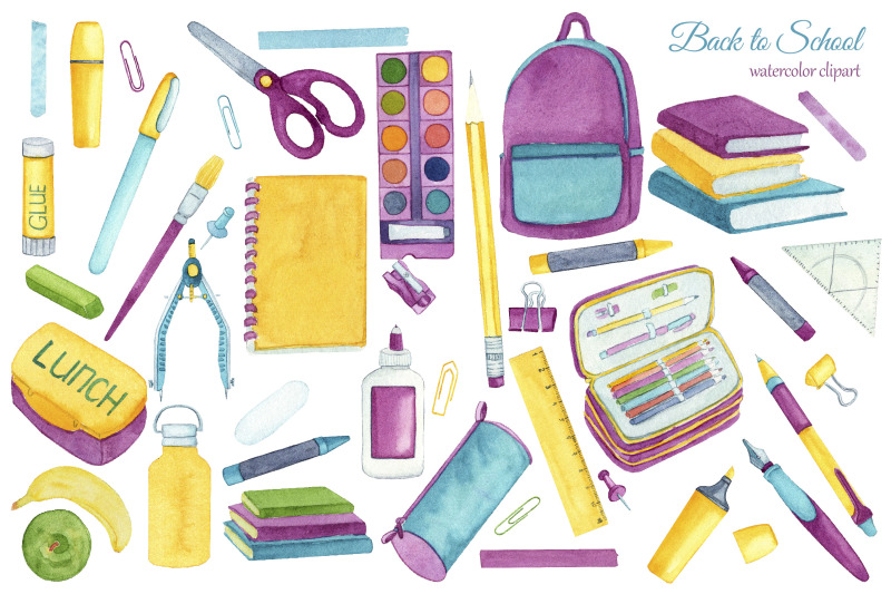 back-to-school-clipart-watercolor-school-supplies
