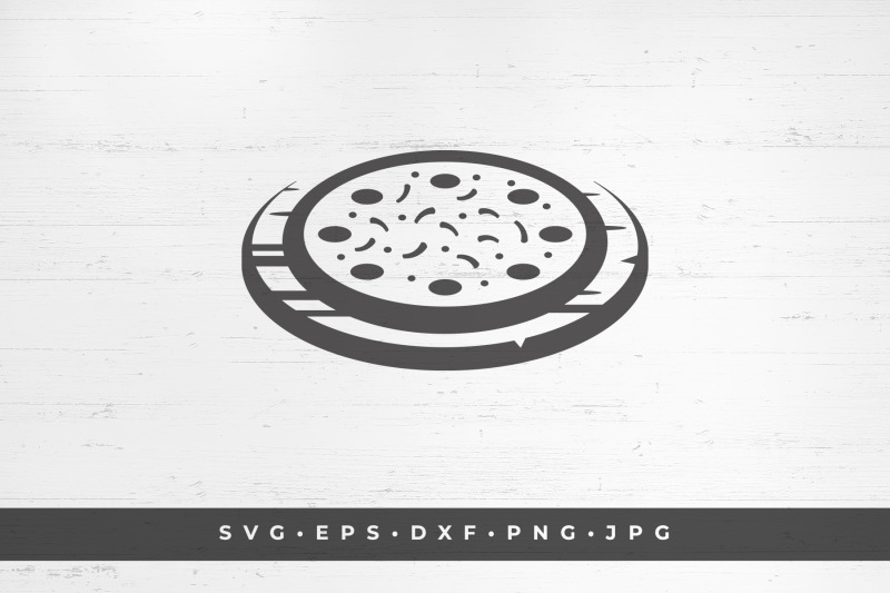pizza-fast-food-silhouette-vector-illustration
