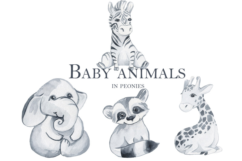 baby-animals-in-peonies