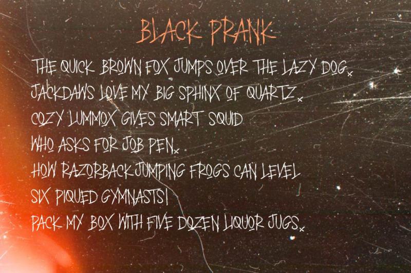 black-prank