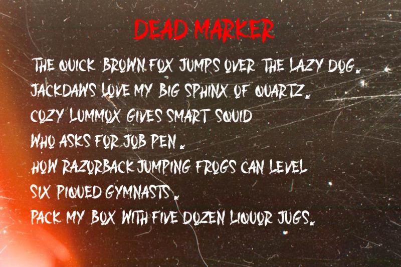 dead-marker
