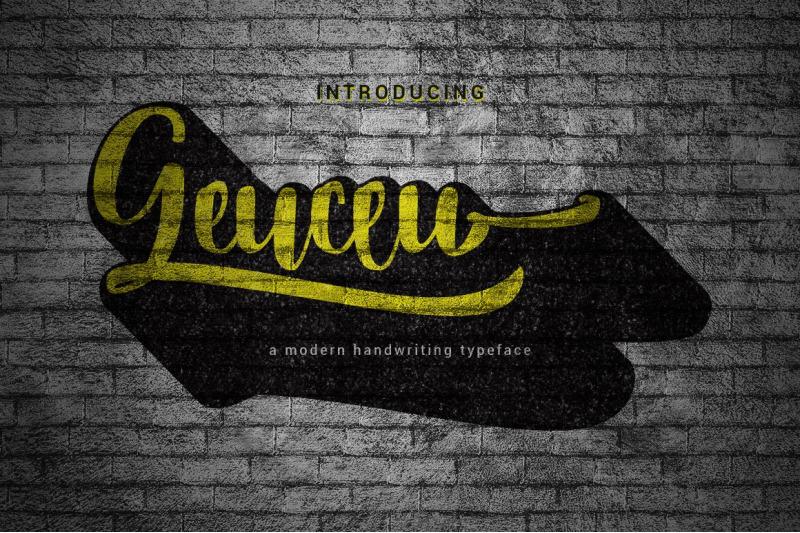 geuceu-typeface