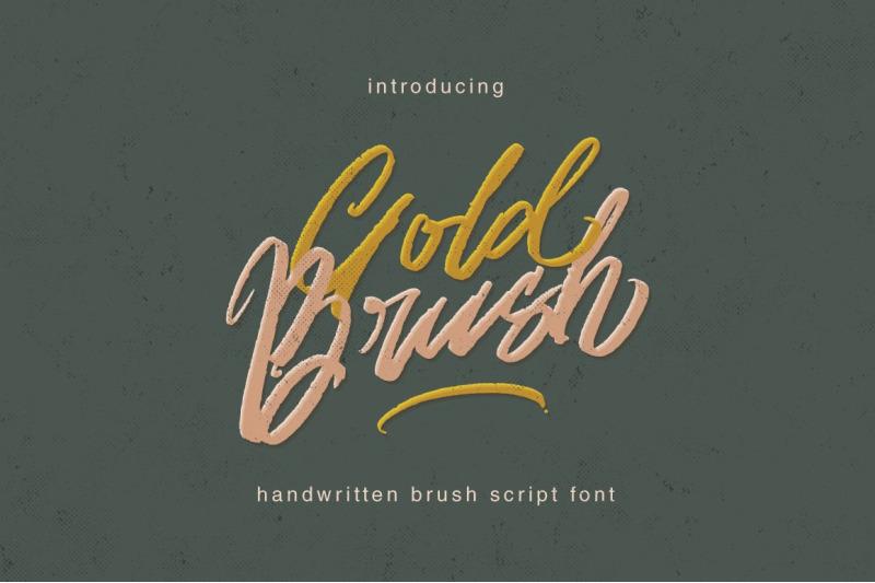 gold-brush