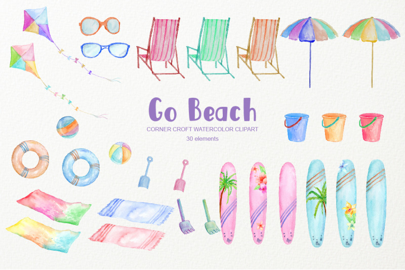 watercolor-clipart-go-beach