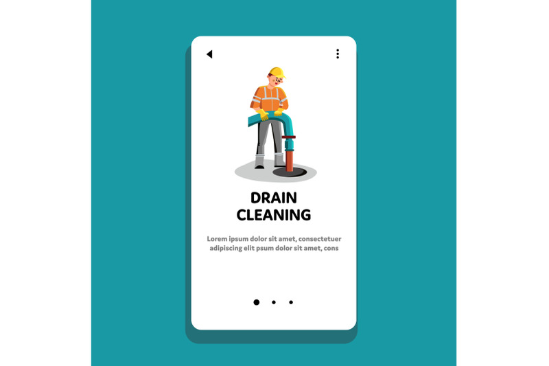 drain-cleaning-and-repair-service-worker-vector
