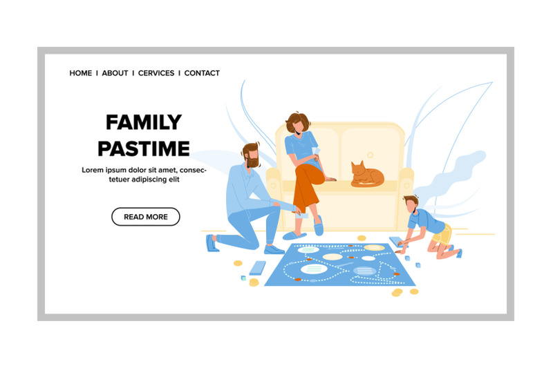 family-pastime-and-enjoyment-board-game-vector