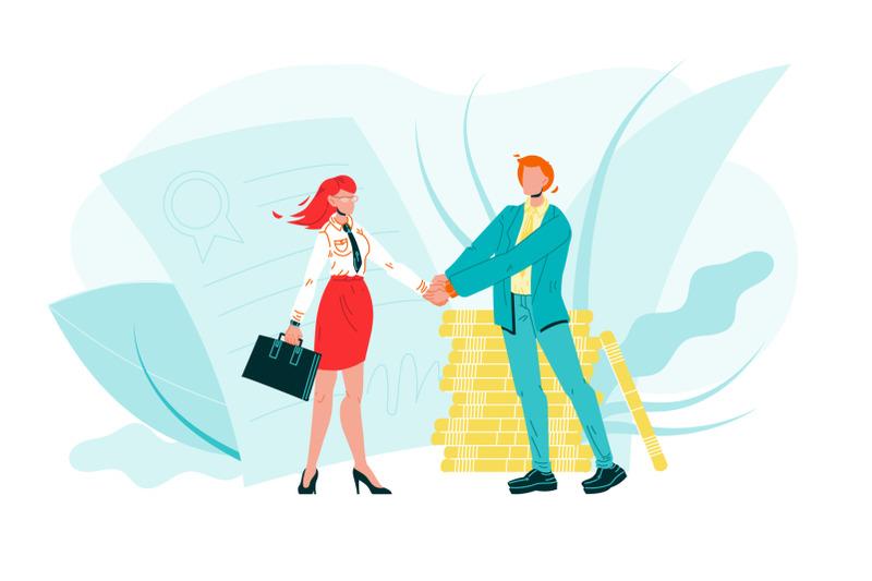 businessman-shake-hand-woman-b2b-characters-vector
