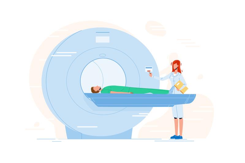 nurse-preparing-patient-for-mri-scan-test-vector