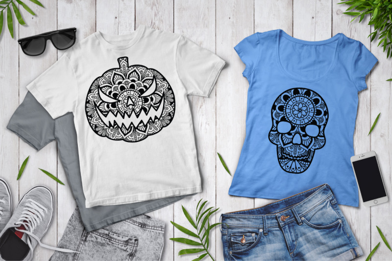 halloween-bundle-mandala-svg-pumpkin-ghost-cat-witch-skull