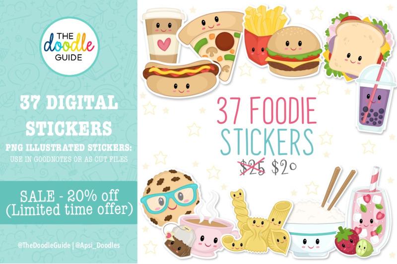 cute-foodie-stickers