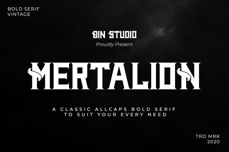 mertalion-vintage-serif-font