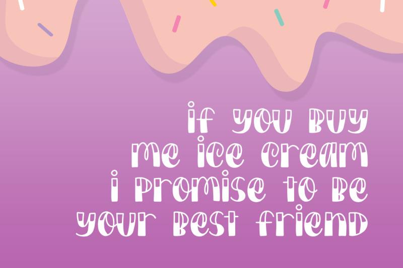 ice-cream-sundae-font-duo