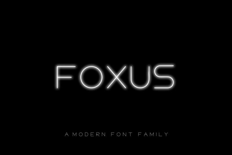 foxus-a-modern-sans-serif