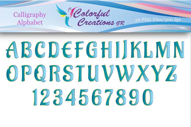 calligraphic-alphabet-calligraphic-numbers-digital-alphabet-numbers