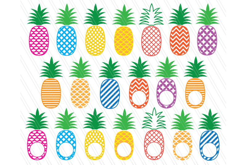 pineapple-svg-cutting-files-dxf-pineapple-svg-patterned-pineapple-cl