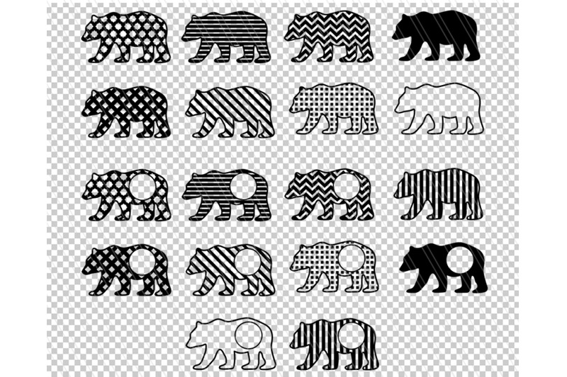 bear-svg-patterned-bear-clipart-nursery-decor-bear-clipart-animal