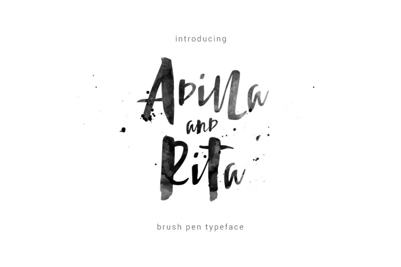 adilla-and-rita-typeface